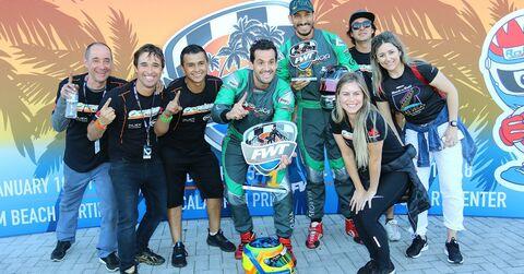 Orsolon Racing celebrates