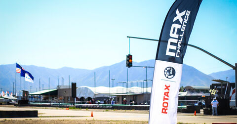 Utah Rotax Flags Mountains