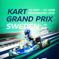 2019 FIA Karting European Championship OK/Junior Round 3 event logo