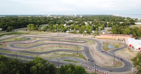 Aerial Biloxi Finishline John Vlog