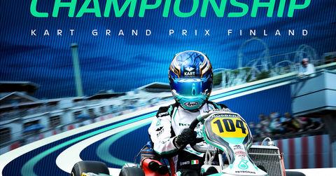 2019 Fia Karting Alaharma World Championship Poster