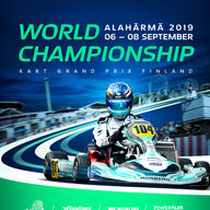 2019  FIA Karting World Championship event logo