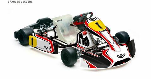 16 Charles Leclerc Kart