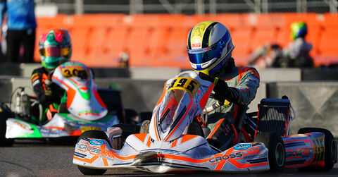 Joshua Carr on track for Crosslink Competition at SuperNationals 23