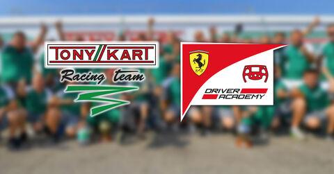 Tony Kart Race Team Ferrari Driver Academy