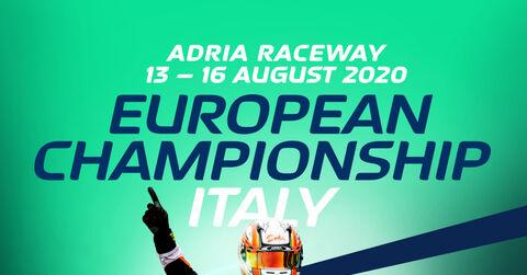 20200805 fia karting adria euro poster