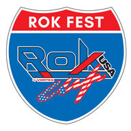 2020  ROK Fest West event logo