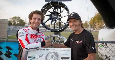 Billy Musgrave and Emerson Fittipaldi