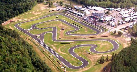 Mont-Tremblant karting circuit