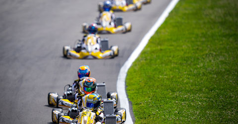 Academy Trophy drivers on track in Sarno